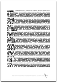 $15 Words have power. Speak these truths into existence. Change the world.  http://www.kickstarter.com/projects/1176440435/manifesto-print-powerful-words-together-in-timeles