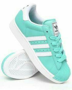 Adidas Superstar!!!!!......turquesas