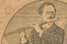 Ernesto Köhler (04/12/1849 - 17/03/1907) N 14, Wooden Flute, Sculpture, Photos, History, Studio, Musicians, Dance, Transverse Flute