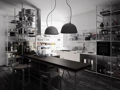 Küche Industrie Inspiriert Pendelleuchten