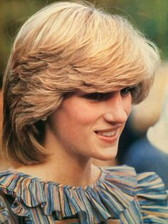 That famous Di haircut that became popular the world over.