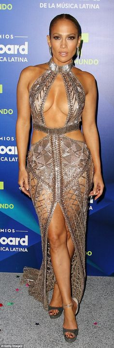 Jennifer Lopez stuns at Billboard Latin Music Awards | Daily Mail Online