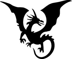 7 Best Images of Flying Dragon Stencils Printable - Dragon Stencil ...