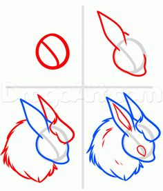 how to draw eeveelutions step 7