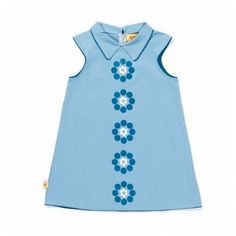 Albababy, blomstret kjole , 98% bomull, 2% elastan