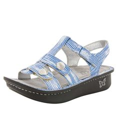 Click here for AlegriaShoeShop.com and the Kleo Wrapture Bluessandal by Alegria Shoes. | Comfort, style, & FREE SHIPPING everyday!