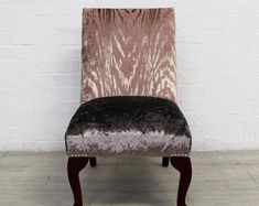 rECOver up-cycling furniture & lives by RECOVERTEAM on Etsy Boudoir, Transforming Furniture, Oak Cabinets, Pink Velvet, Upcycled Furniture, Solid Oak, Household Items, Accent Chairs, Volunteers