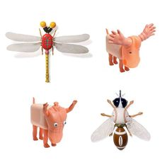 Awesome upcycled toys! Love these! Super silly but cute!