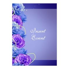 Blue purple birthday engagement wedding personalized invitations you will get best price offer lowest prices or diccount couponeReview          	Blue purple birthday engagement wedding personalized invitations Online Secure Check out Quick and Easy...