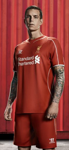 Liverpool Football Club have today revealed their brand new Warrior home kit for and it's already a big hit among the players - check out the Reds' stars in their strip for next season. Liverpool Fc New Kit, Liverpool Football Club, Football Season, Football Players, This Is Anfield, Something In The Way, New Warriors, You'll Never Walk Alone, Sport Wear