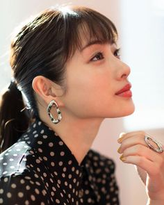Viria, Satomi Ishihara, Japanese Beauty, Actor Model, Woman Face, Cute Girls, Outfit Of The Day, Celebs, Male Celebrities