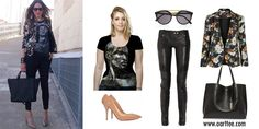 Get this look with an all over printed tee by OArtTee http://www.oarttee.com/