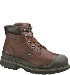 W04659 Wolverine Men's Lawson Met Guard Safety Boots - Brown