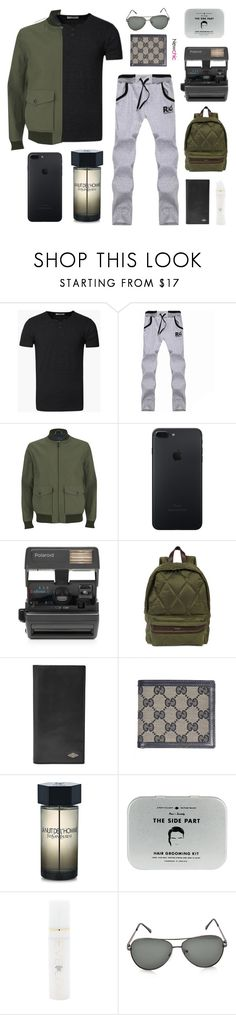 """""""Newchic 3.1"""" by jesicacecillia ❤ liked on Polyvore featuring Knutsford, Impossible, Casely-Hayford, FOSSIL, Gucci, Yves Saint Laurent, Men's Society, Eve Lom, newchic and lovenewchic"""