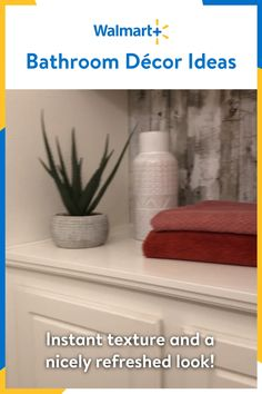 #sponsored with @Walmart Bathroom Decor is simple with the help of Walmart+. I'm partnering with Walmart+ to share my easy bathroom decor ideas. Using everyday items, you can transform your bathroom from drab to fab! Walmart+ delivers all your groceries and daily essentials right to your door so you can do more of what you love, like transforming your home. Start your free Walmart+ trial today.