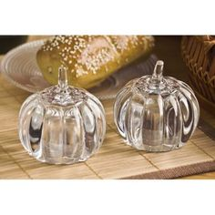 Pumpkin Crystal S&P Shakers