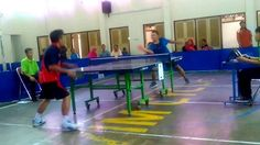 Pemain Tenis Meja Yang Sangat Lucu # Table tennis players are very funny #