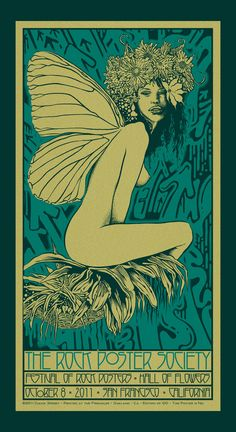 The Rock Poster Society, Festival of Rock Posters, 2011 Rock Posters, Hippie Posters, Concert Posters, Music Posters, Art And Illustration, Illustrations, Psychedelic Rock, Kunst Inspo, Art Inspo