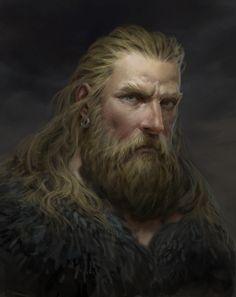 Urso by Alexander Skripnikov Fantasy Male, Dark Fantasy Art, Final Fantasy Art, Beautiful Fantasy Art, Fantasy Kunst, Fantasy Rpg, Medieval Fantasy, Fantasy Artwork, High Fantasy