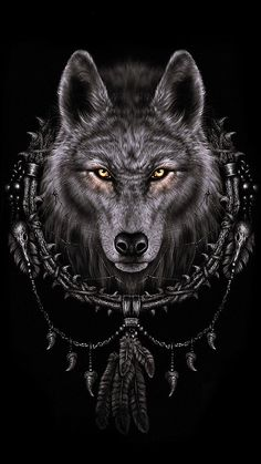 Wallpaper For Iphone 6  F0 9f 98 8e Wolf Spirit Spirit Animal Werewolves Wolf