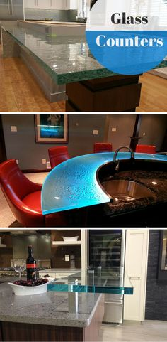 1000 images about glass countertops on pinterest glass for Glass block options