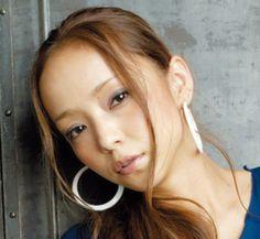 Prity Girl, Cool Girl, Hoop Earrings, Long Hair Styles, Lady, Image, Beauty, Namie Amuro, Women