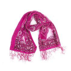 Girlie-Stuff | shawl fuchsia