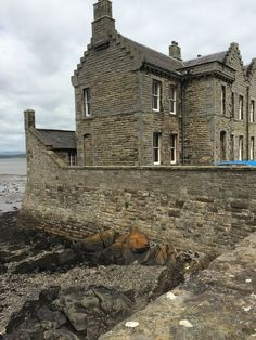 Blackness Castle which doubled as Fort William in Outlander.