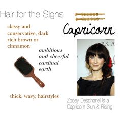 """""""Hair for the Signs Capricorn"""" by expressingyourtruth on Polyvore"""