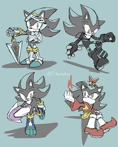 Sonic the hedgehog Shadow The Hedgehog, Sonic The Hedgehog, Sonic Fan Characters, Fictional Characters, Sonic The Movie, Sonic Adventure, Anime Undertale, Sonic And Shadow, Sonic Fan Art