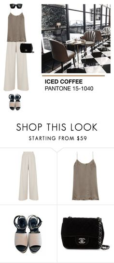 """Untitled #2063"" by yenybarriot ❤ liked on Polyvore featuring Nicole Coste, 81hours, Karl Lagerfeld and Chanel"
