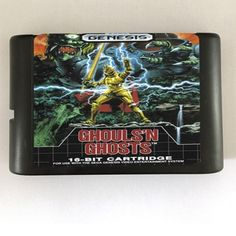 Games Cartridge - Ghouls'n Ghosts and The Avengers For 16 bit Sega MegaDrive Genesis Sega Game console