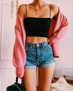 Trendy Summer Outfits, Cute Comfy Outfits, Simple Outfits, Stylish Outfits, Casual Summer, Classy Outfits, Teen Fashion Outfits, Look Fashion, Girl Outfits
