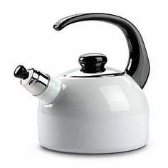 Riess Flötenkessel Emaille   Kaffee- und Teezubereitung