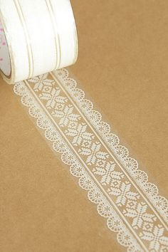 Transparent Wide Lace Tape - 05