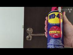 Squeaking door FIX   Door hard to close - YouTube Wd 40, Home Hacks, Youtube, Diy, Style, Swag, Bricolage, Do It Yourself, Youtubers