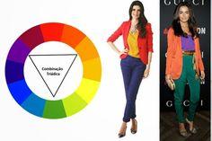 Como utilizar o Círculo Cromático na maquiagem. – TRUQUES DE MAQUIAGEM - Paola Gavazzi Fashion Tips For Women, Womens Fashion, Personal Stylist, Fashion Days, Color Mixing, Color Combinations, Color Blocking, The Secret, Stylists