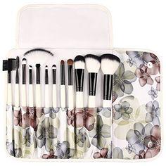 UNIMEIX Professional 12 Pcs Makeup Brushes Cosmetics Brush Set - http://freebiefresh.com/unimeix-professional-12-pcs-makeup-brushes-review/