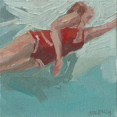 """searching study, 6x6"""", Oil, 2010 Sold"""