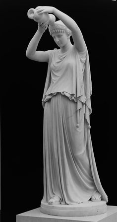 Antigone Pouring a Libation over the Corpse of Her Brother Polynices - William Henry Rinehart, 1870