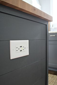 Outlet with built in USB -- a must have! from Thrifty Decor Chick. The convenient USB Wall Outlet charges your devices and optimizes charging efficiency!  http://amzn.to/2jYO0QE