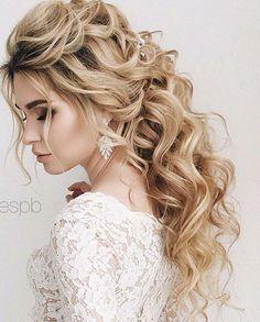 Elstile wedding hairstyles for long hair 30 - Deer Pearl Flowers / http://www.deerpearlflowers.com/wedding-hairstyle-inspiration/elstile-wedding-hairstyles-for-long-hair-30/