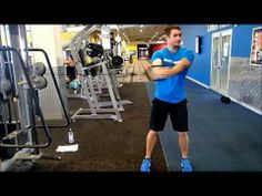 The Cable woodchop is a great exercise for loading the obliques and abdomen and trains the muscles of the trunk to not just produce force and power but also to reduce force and power.