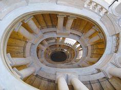Borromini staircase, Palazzo Barberini, Rome