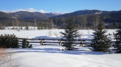 Vista Verde Ranch in Steamboat Springs, CO where my nephew, Matthew Campbell, is executive chef. Must visit soon!