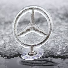 Luxury on ice. #MBPhotoCredit Facebook fan Mina E. #Mercedes #Benz #instacar #carsofinstagram #germancars #luxury