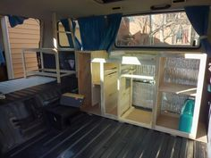 Vanagon Interior Ideas | He planned his job well. Here it is fitting perfectly in his empty ...