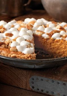Sweet Potato Pie - Step aside, pumpkin pie — there's a new dessert in town, and it's perfect after Thanksgiving dinner. There won't be any Sweet Potato Pie leftovers!