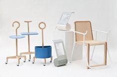 Well designed furniture to improve the lives of the elderly. Great.