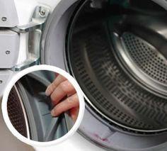 Cómo quitar el moho de la lavadora y de la goma de carga